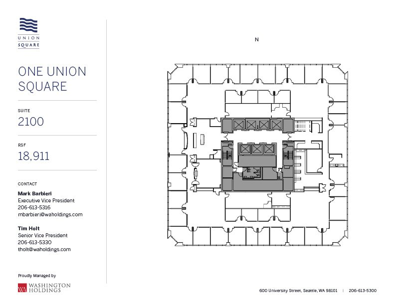Image of One Union Square, floor 21
