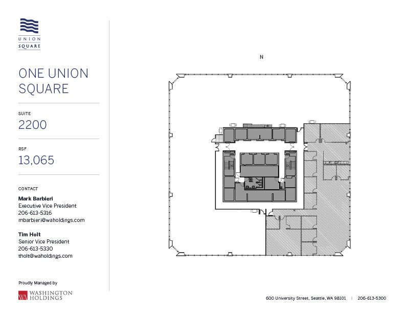 Image of One Union Square, floor 22