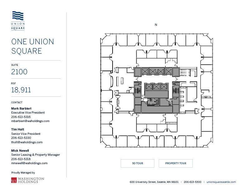 Image of One Union Square, floor 21