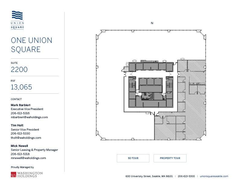 Image of One Union Square, floor 22