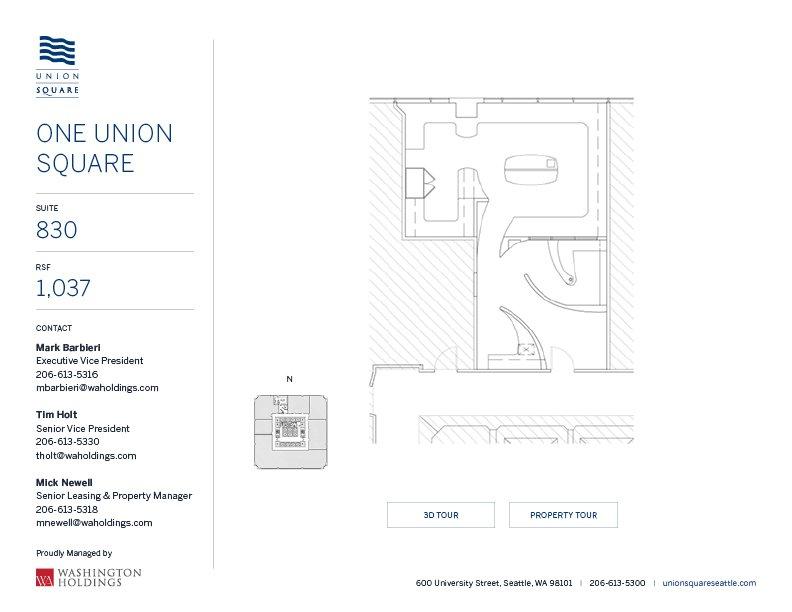Image of One Union Square, floor 08