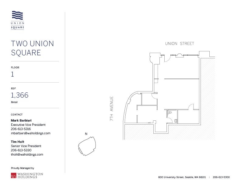 Image of Two Union Square, floor 01