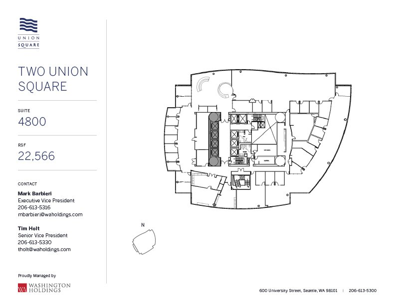 Image of Two Union Square, floor 48