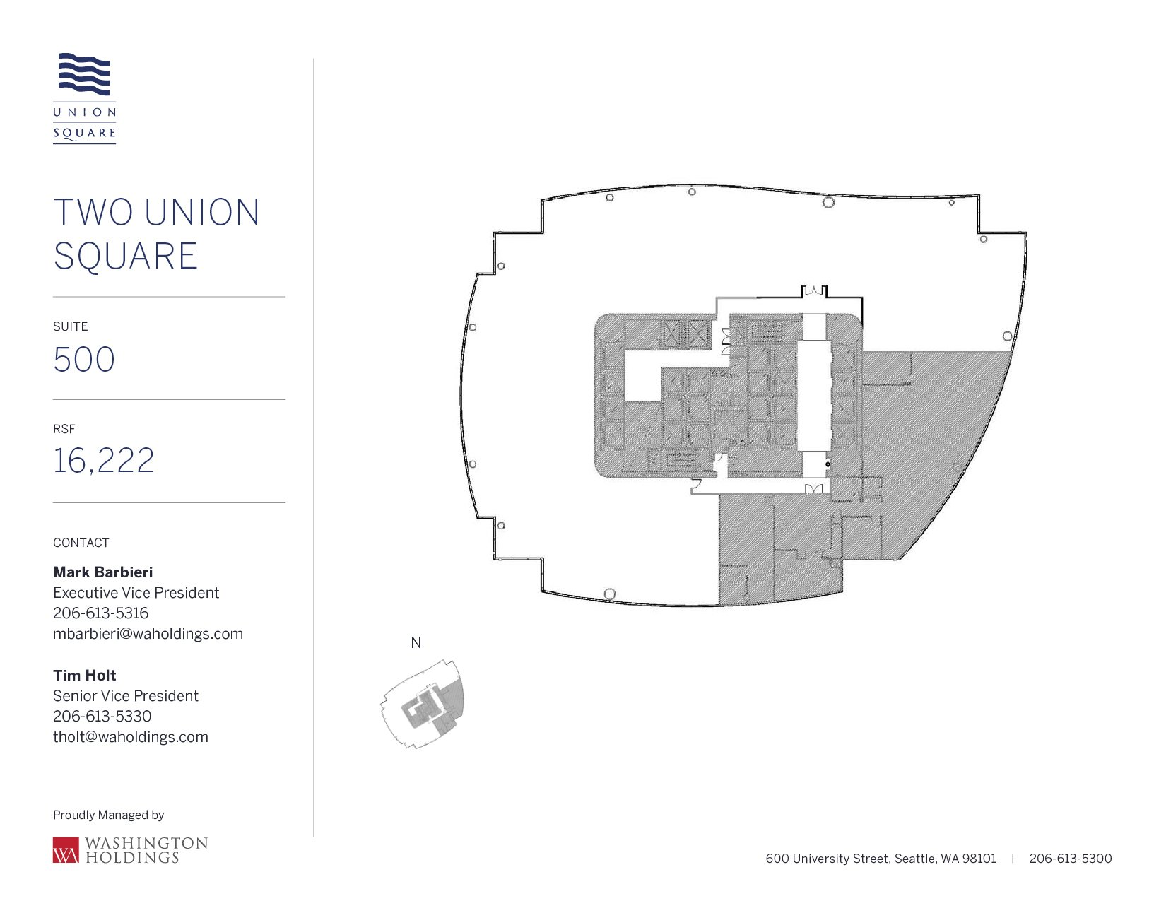 Image of Two Union Square, floor 05