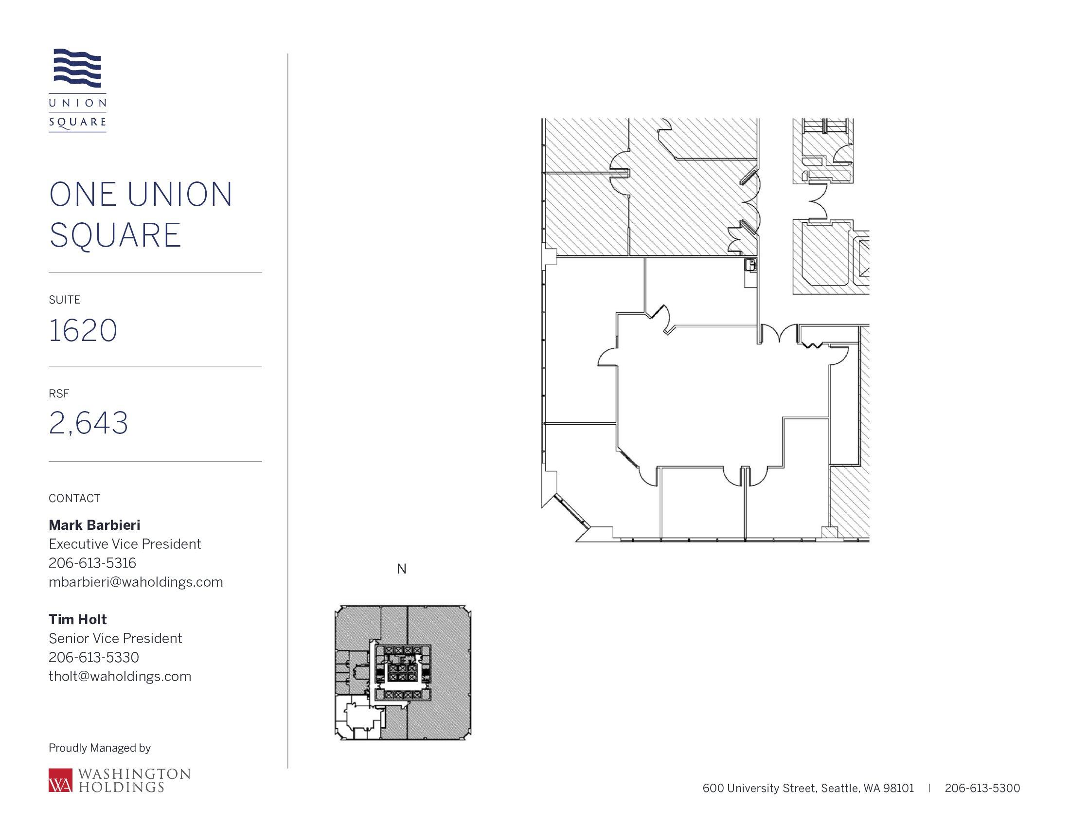 Image of One Union Square, floor 16