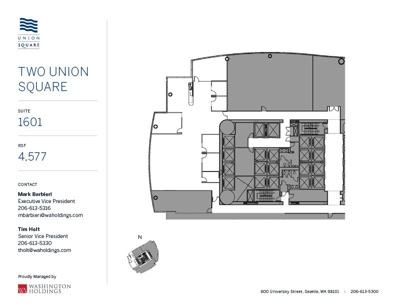 Image of Two Union Square, floor 16