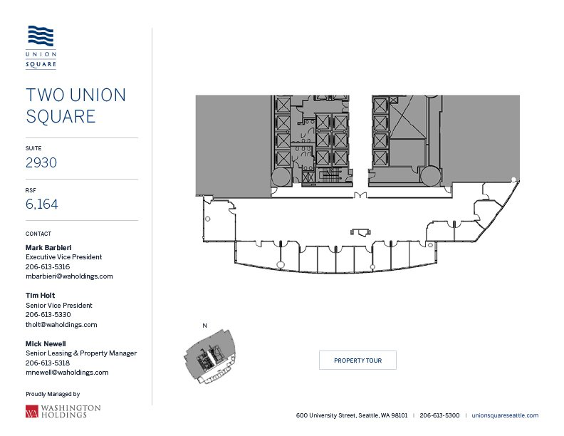 Image of Two Union Square, floor 29