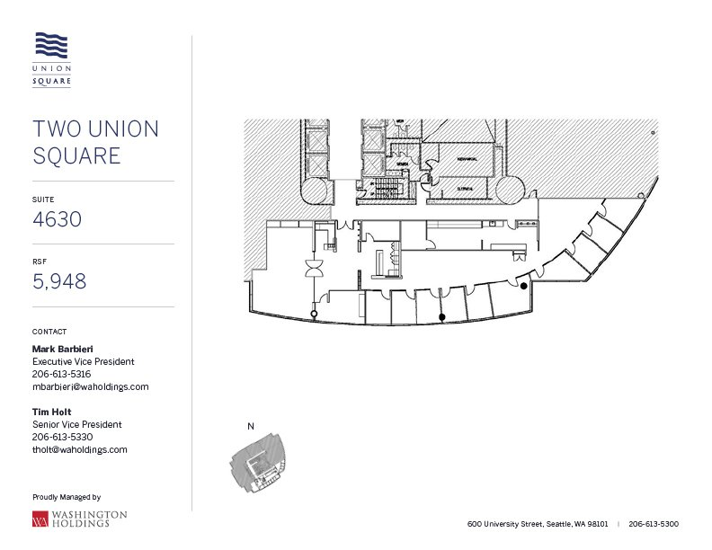 Image of Two Union Square, floor 46