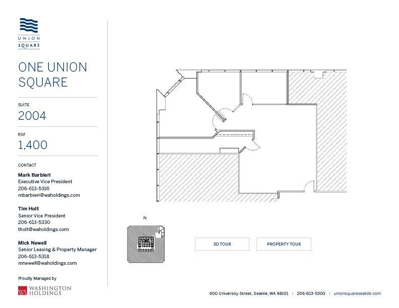 Image of One Union Square, floor 20