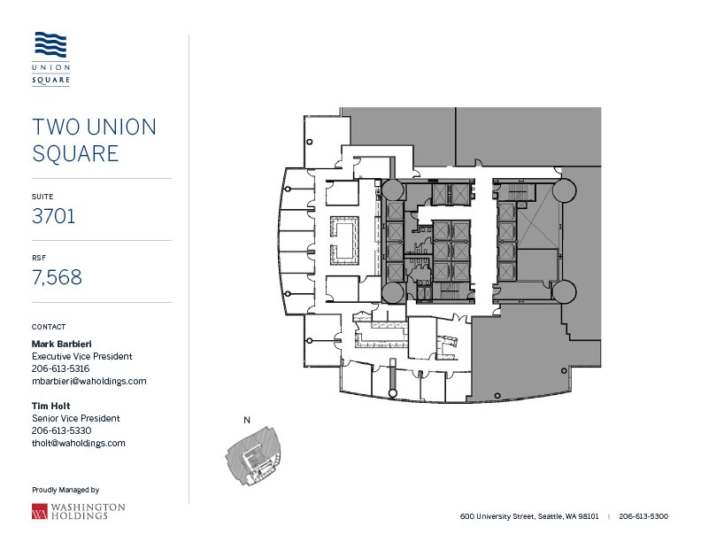 Image of Two Union Square, floor 37