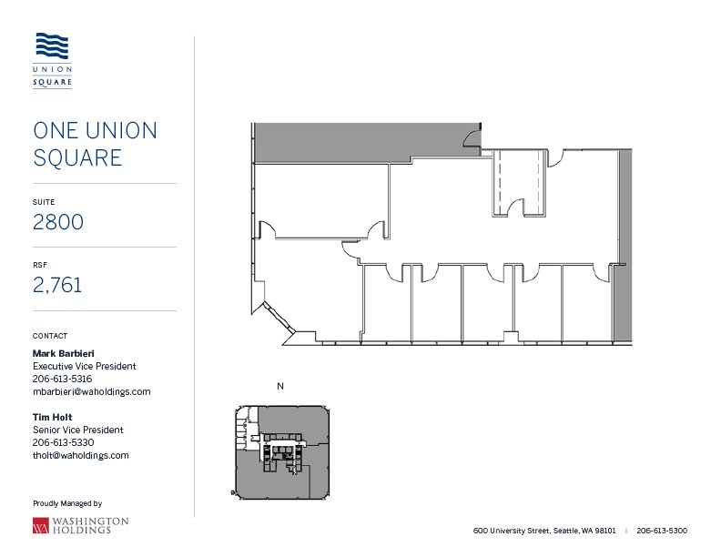 Image of One Union Square, floor 28