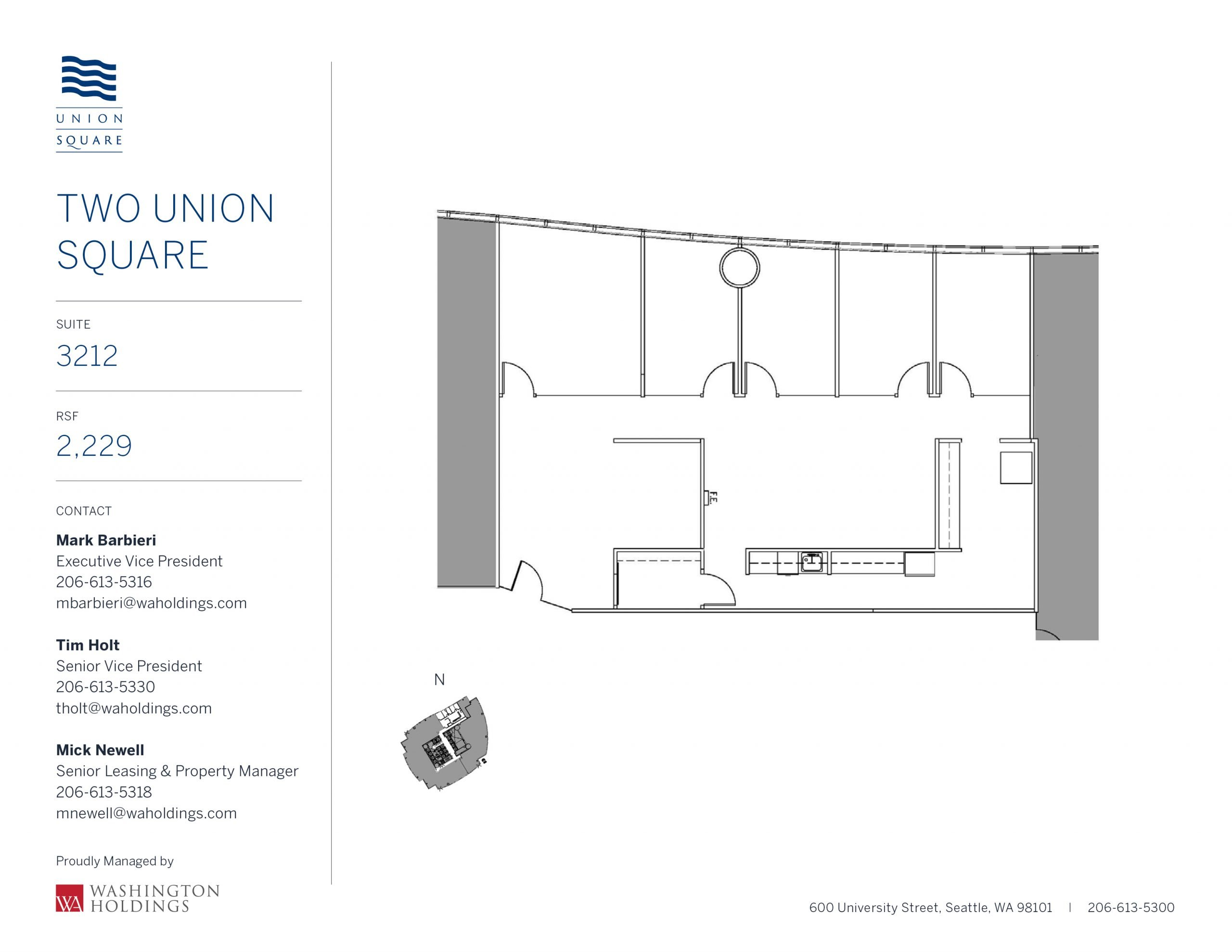 Image of Two Union Square, floor 32