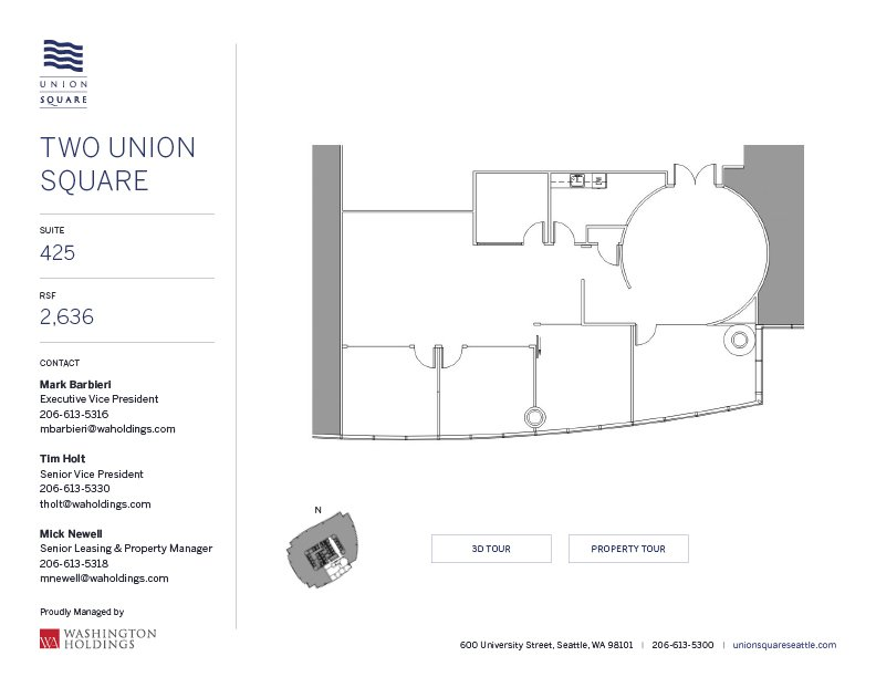 Image of Two Union Square, floor 04