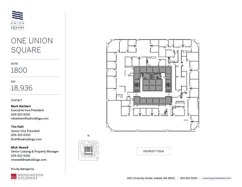 Image of One Union Square, floor 18